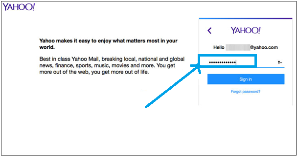 yahoo mail delete step