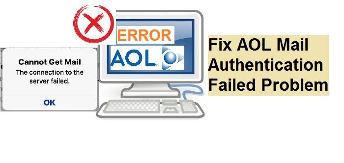 Fix AOL Mail Authentication Problem