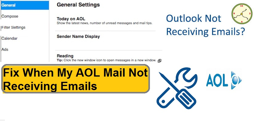 Fix When My AOL Mail Not Receiving Emails