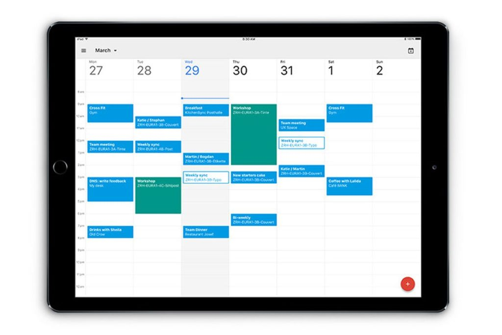 Google Calendar Application