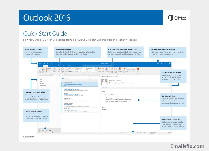 Launch the outlook website - ATT Email Settings for Outlook 2016