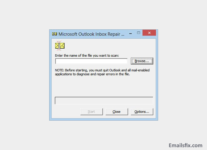 Scanpst.Exe- Outlook 2013 crashes when opening email