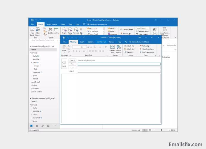 Outlook - how to insert picture in outlook 2010 email body