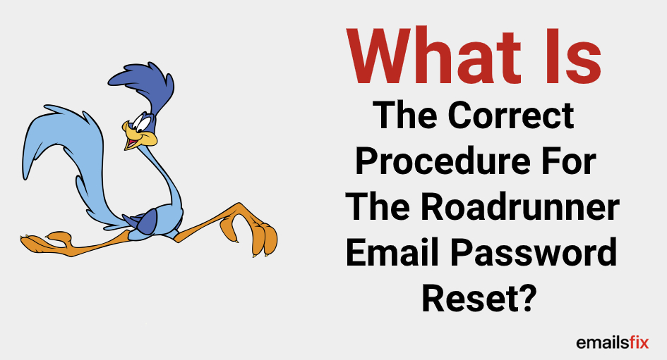 What Is The Correct Procedure For The Roadrunner Email Password Reset?